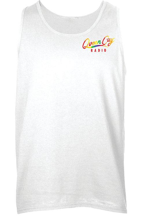 White Tank Pride Logo
