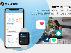TRAINERIZE UPDATE | Sync wearable data to Trainerize with the Apple Health/Watch (BETA) Integrations