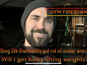 Does lifting weights make you bulky? Will 2lb DBs get rid of arm flab?