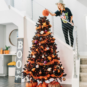 Halloween Themed Tree