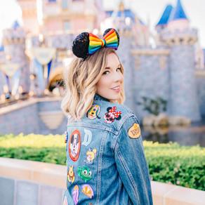 DIY Disney Patch Jacket