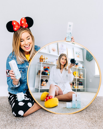 H2o x Disney products campaign