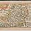 Thumbnail: 17th CENTURY MAP 'HartfordeShire' (Hertfordshire) by Pieter Van Der Keere