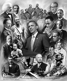 Pres. Obama, Fredrick Douglas