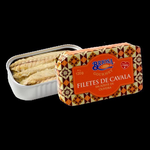 Filetes de Cavala em Azeite de Oliveira
