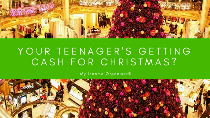 Your Teenagers Getting Cash for Christmas?