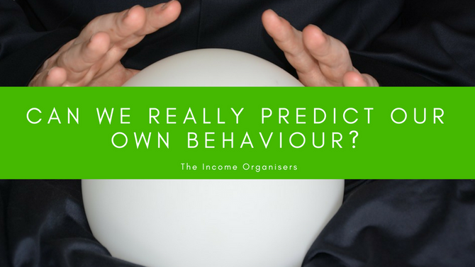 Can we really predict our own behaviour?