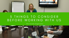 5 things to consider BEFORE working WITH US