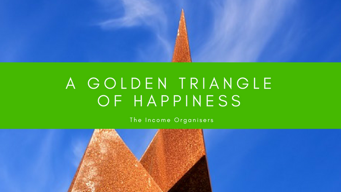 A Golden Triangle of Happiness?