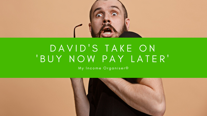 David's take on 'buy now pay later' services...