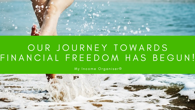 Our journey towards financial freedom has begun!