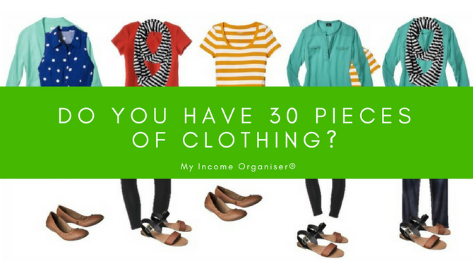 Do you have at least 30 pieces of clothing?