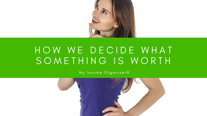 How we decide what something is worth