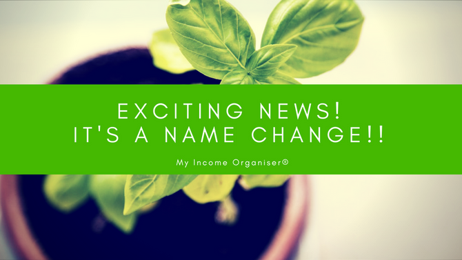 Exciting news... we're changing!