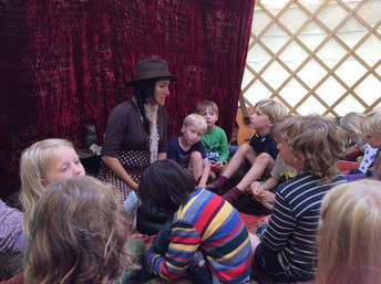 STORYTELLING YURT COMING TO LANGPORT!