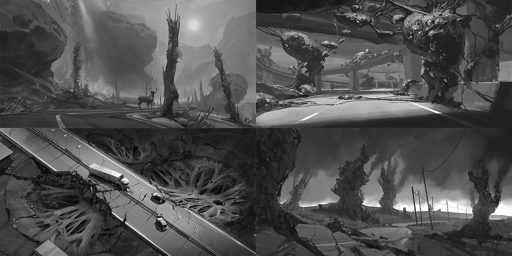 Value sketches further exploring visual grammar for the KIN universe
