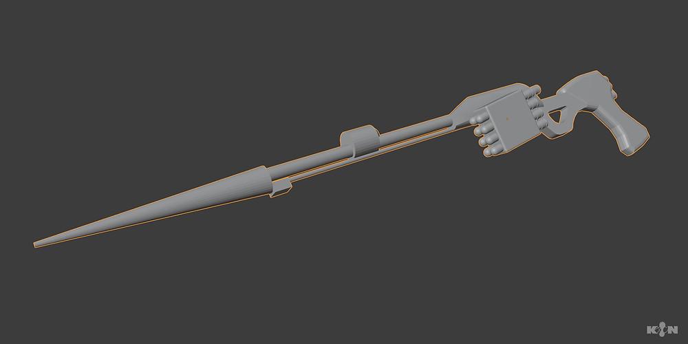 KIN – Mycocene | Pipette stick 3D blocking