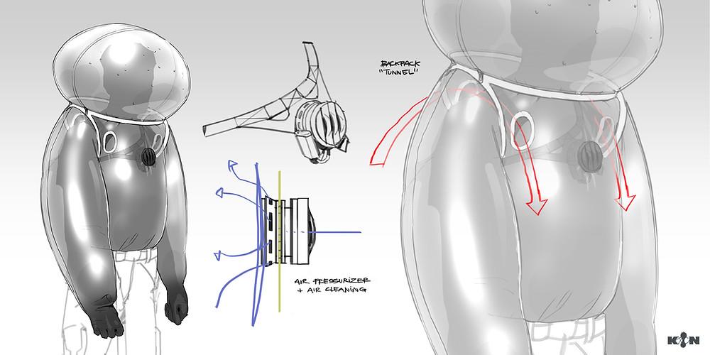KIN - Mycocene | Suit final design
