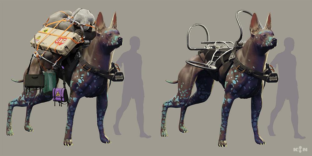 KIN – Mycocene | The mirror dog final concept