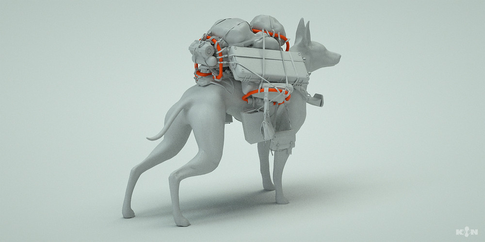 KIN – Mycocene | Mirror dog 3D model