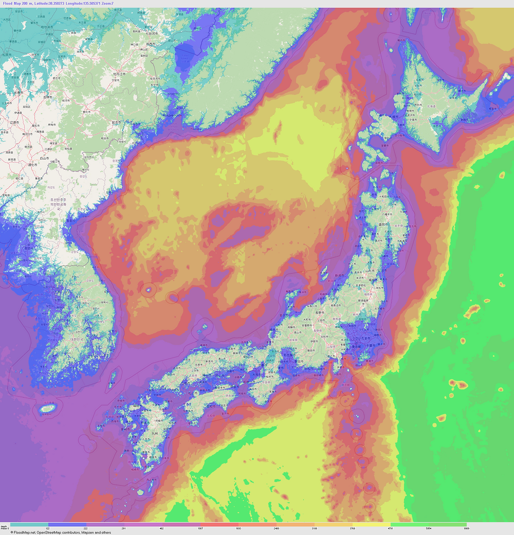 KIN – Mycocene   Japan Floodmap