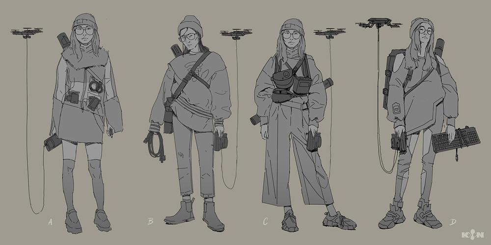 KIN – Mycocene | Elle design sketches
