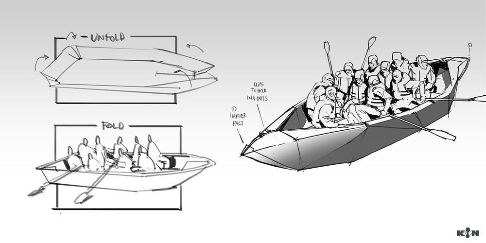 KIN – Mycocene | Lifeboat sketches