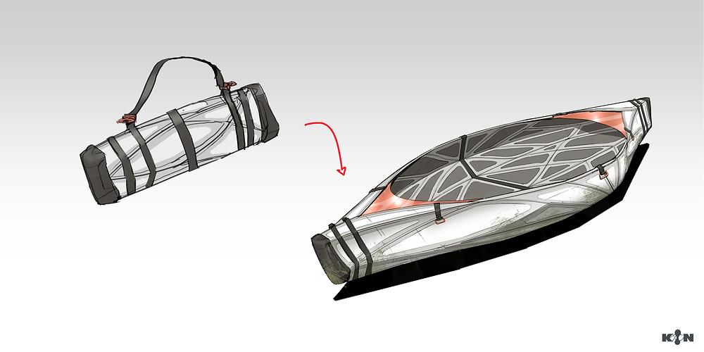 KIN – Mycocene | Lifeboat final concept