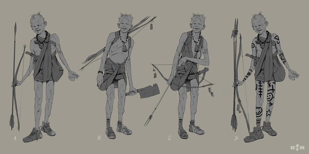 KIN – Mycocene | Kykoo design sketches