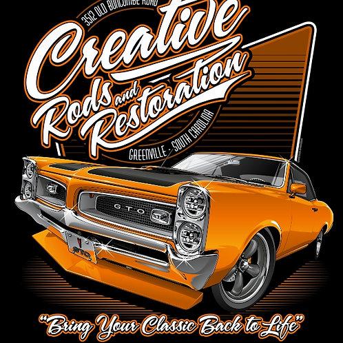 Creative Rods Short Sleeve GTO T-shirt