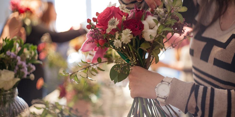 Spring Floral Crown Workshop