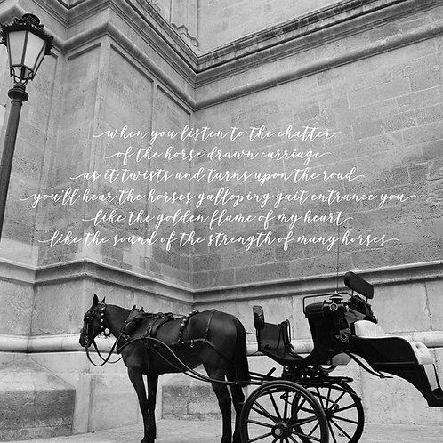 Dearest Princess The Carriage Awaits Card