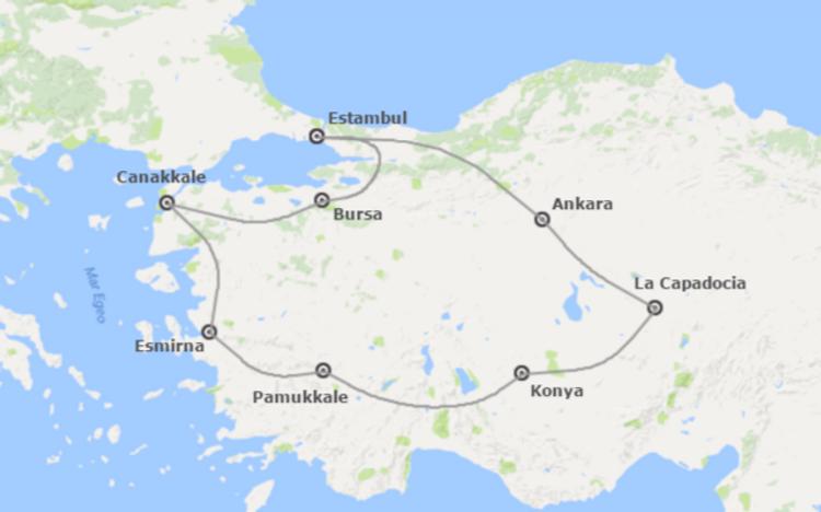 Turquia Tours, Tours en Turquia