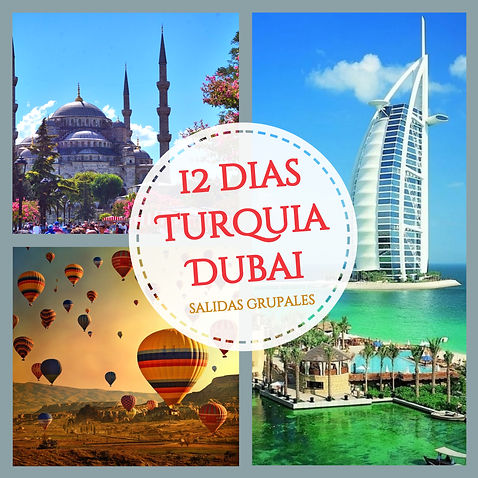 turquia dubai tour viaje