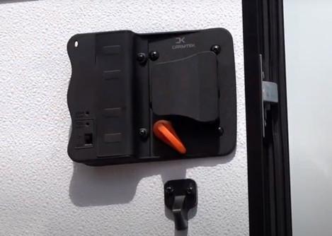 7--Interior-View-of-RV-Door-Lock-Install
