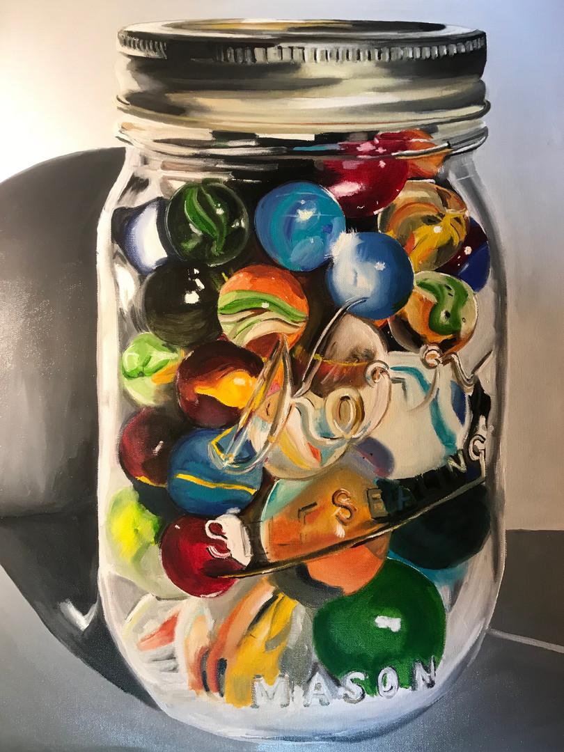 Jar of arbles