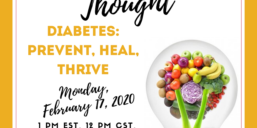 Diabetes: Prevent, Heal, Thrive