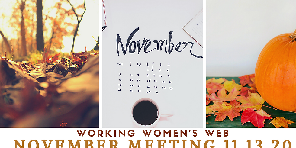 Working Women's Web November Meeting