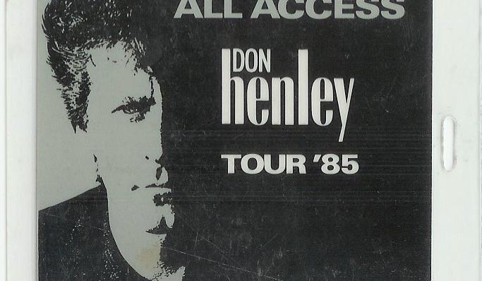 Don Henley Boys Of Summer Tour