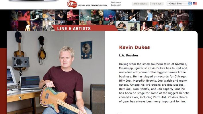 Line 6 Artist Profile