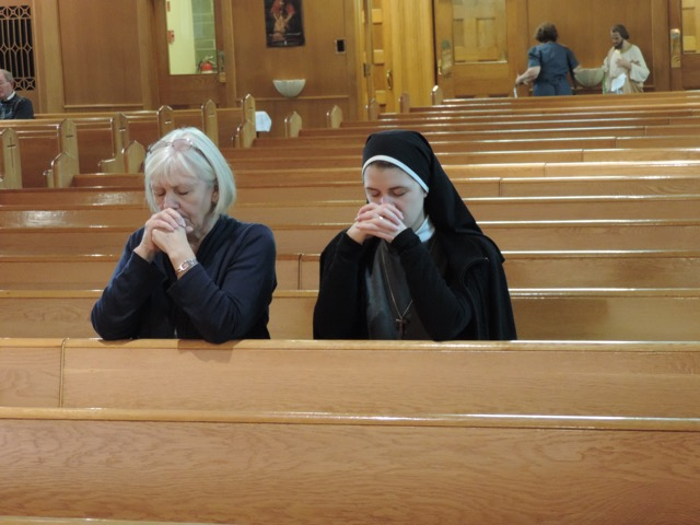 Sr Angela and mom
