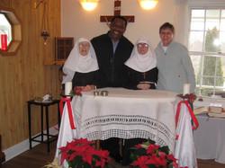 Mass with Fr Toochukwu