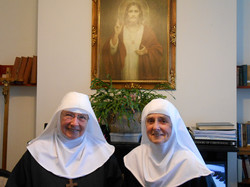 Sr Patricia and Sr Therese