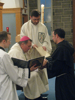 Br Peter's Final Profession