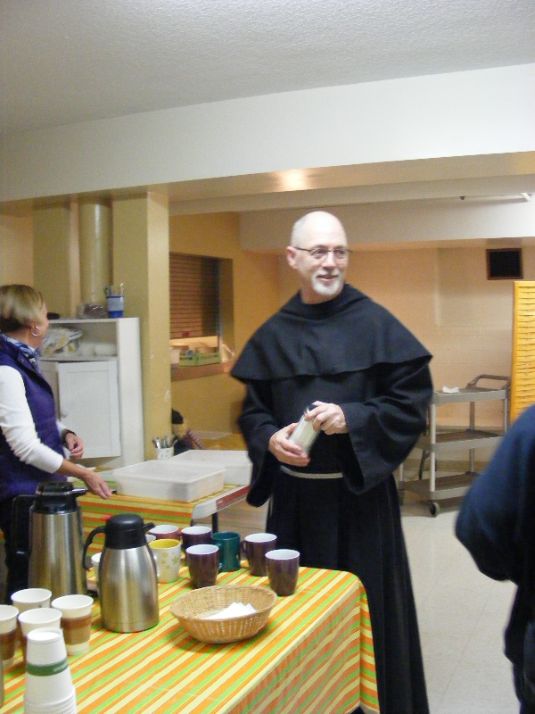 Br Grant at Outreach