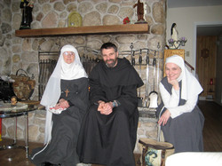 Visitors to the Convent
