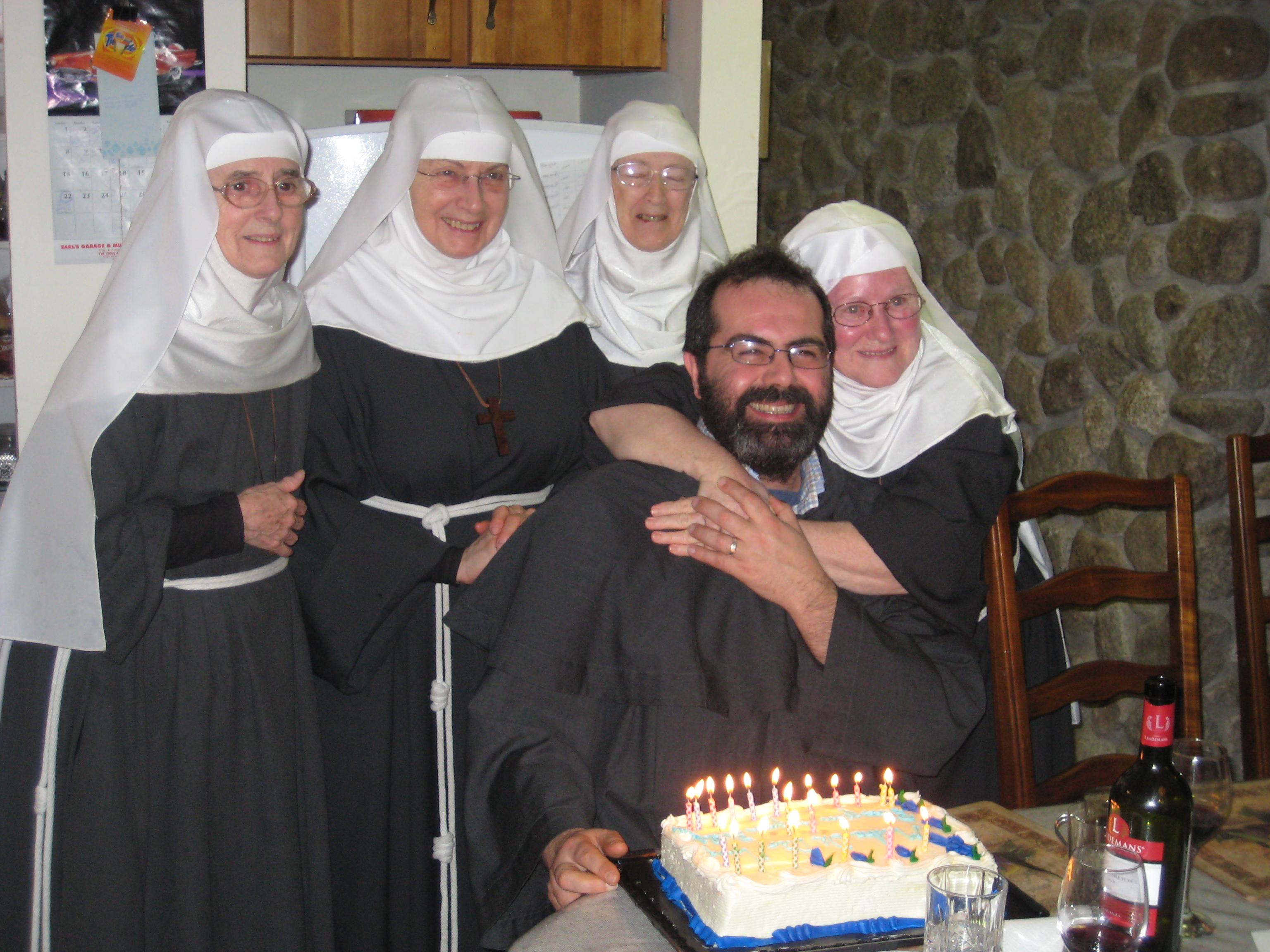 A visit with Fr Agnello