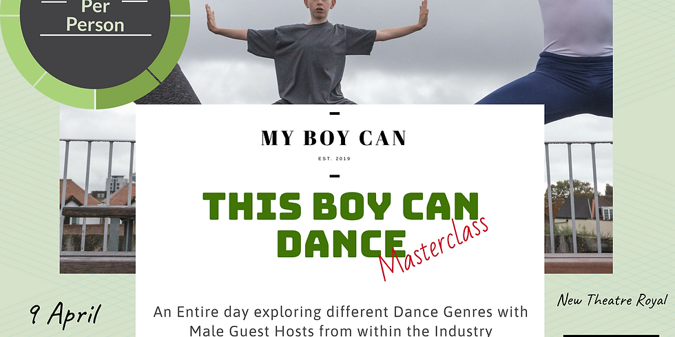 Portsmouth Age 11-16 This Boy Can Dance MASTERCLASS