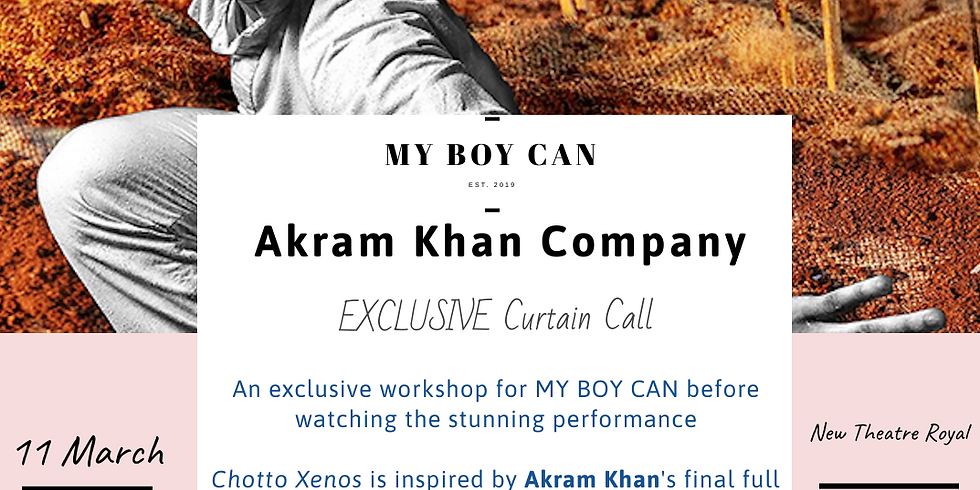 Akram Khan Company Exclusive Curtain Call and Performance