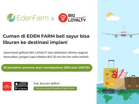 Reward Spesial untuk Reseller Eden Farm